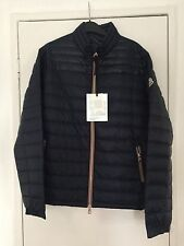 New Moncler Daniel Men's Down Quilt Jacket Navy Size 4,UK Size L RRP500