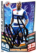 Reading F.C Mikele Leigertwood Hand Signed 12/13 Premier League Match Attax.