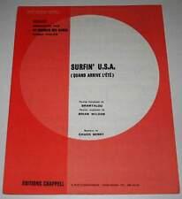 Partition sheet music AU BONHEUR DES DAMES / BEACH BOYS : Surfin' USA * 70's