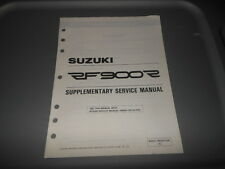 Factory OEM Suzuki 1995 RF900R S Supplementary Service Manual 21pgs