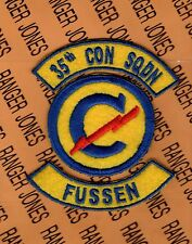 US Army 35th Constabulary Squadron FUSSEN Germany patch tab set
