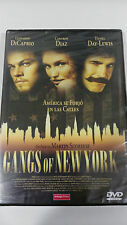 GANGS OF NEW YORK MARTIN SCORSESE DVD PELICULA CASTELLANO INGLES NEW PRECINTADA