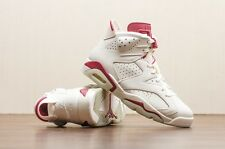 NIKE Air Jordan VI 6 Retro biancastro Maroon UK 7 US 8 3 4 5 11 infrared carmine