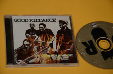 CD (NO LP ) GOOD RIDDANCE REMAIN IN MEMORY ORIG CON LIBRETTO COME NUOVO EX+ !!!!