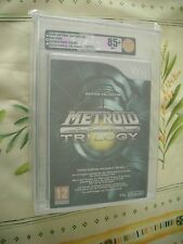 VGA 85+ METROID PRIME TRILOGY WII NINTENDO PAL FRENCH NEW FACTORY SEALED!