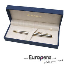 Waterman Hemisphere Steel & Gold Mechanical Pencil Personalised ENGRAVED Gift