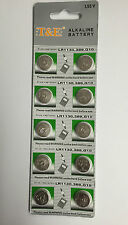 NEW 20 X AG10 LR1130 389 SR1130 WATCH 1.55v FR BUTTON QUALITY COIN CELLS BATTE