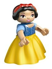 LEGO - Duplo Figure - Disney - Snow White w/ Cloth Dress (Lego Ville Figure)