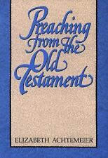 Preaching from the Old Testament-ExLibrary
