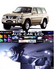Nissan Patrol GU White Interior light LED upgrade kit for dome & map ect