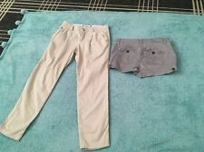 Abercrombi. And Fitch Set of 2  trousers / shorts Size 2