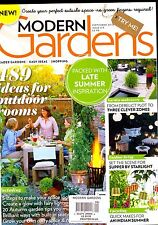 MODERN GARDENS September 2016 Ideas for Outdoor Rooms UPCYCLING Fairy Lights