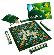 Mattel - Scrabble Original - the Classic Crossword Game - Brand New