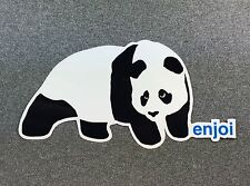 Enjoi Panda Skateboard Sticker 7in si