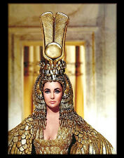 """Elizabeth Taylor As Cleopatra 1963 - HQ 16x20"""" Color Print & Collectible Poster"""
