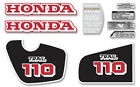 1984-86 Honda CT110 Trail - 9 pc. decal set
