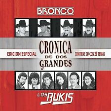 Bronco Cronica De Dos Grandes CD ***NEW***