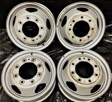 "17"" Chevrolet GMC Wheels Rims Silverado Sierra 3500 OEM steel dually Factory"