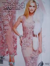 Journal Mod 592 Zhurnal Mod Russian Crochet Patterns Fashion Magazine Book 2015