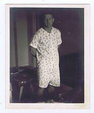 """Mickey Mantle RARE Original 4""""x5"""" 1950's Photo Smoking Pajamas Type 1 PSA DNA"""
