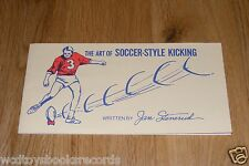 Vintage Green Bay Packers/Kansas City Chiefs Kicker Jan Stenerud Soccer-Style