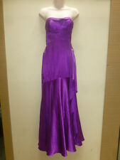 464 FLIRT MAGGIE SOTTERO P4223 SZ 4 PURPLE FORMAL PROM HOMECOMING GOWN DRESS