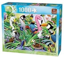 1000 Piece Animal World Jigsaw Puzzle Toy - MAGIC TROPICAL BIRDS 05483