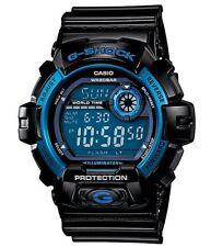 Casio G Shock *G8900A-1 Alum Blue Dial Glossy Black Gshock Watch XL COD PayPal