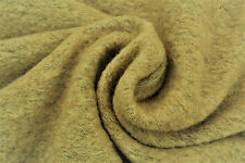 C131 boiled laine mélangée plain rustique knit natural heather tons made in italy