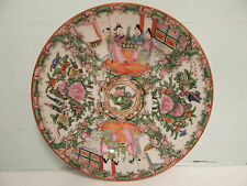 Chinese Famille Rose Hand Painted Large Sized Tea Plate