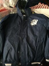 NEW Starter Ruvilla Georgetown Hoyas Hooded Parka - Men's S and M