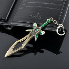Alloy DOTA 2 Butterfly Sword Figure Keyring Keychain Cosplay Accessory Gift