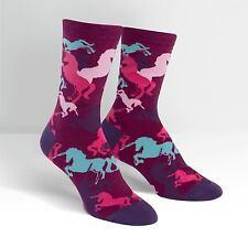 Sock It To Me Women's Crew Socks - Mythical Unicorn
