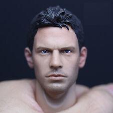 █ Custom Chris Redfield 1/6 Head Sculpt Resident Evil for Hot Toys Muscular Body