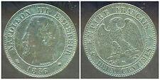 2  centimes  NAPOLEON III 1856  BB   ( TTB +  )