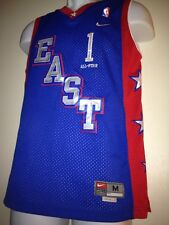 Authentic NIKE BRAND NBA EAST ALL-STAR #1 McGrady Youth M +2 NWT