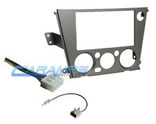 2005-2009 SUBARU CAR STEREO RADIO DASH INSTALLATION TRIM KIT WITH WIRING HARNESS