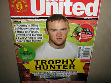 NEW! INSIDE Manchester UNITED Official Magazine November 2012 Wayne Rooney