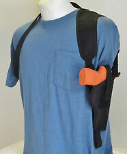 Gun Shoulder Holster for GLOCK 17, 22, 31,37 with Underbarrel Laser