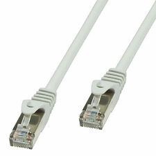 15 m CAT5e LAN Kabel, (RJ45) U/UTP, grau Patch cable extern Ungeschirmt CP1102U