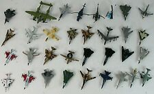 Lot Of 33 Vintage Diecast Metal Military Airplanes and Helicopters NICE