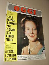 OGGI=1966/22=MARGRETHE OF DANEMARK=MARIO MUSETTI=GIORGIO GABER=MASSINO VISCONTI=