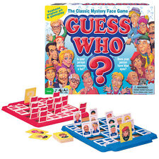 NEW Guess Who Original Art Design Family Board Game - 2 Players Ages 6 And Up