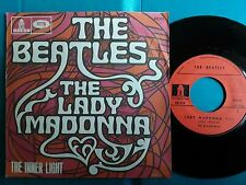 """BEATLES  LADY MADONNA   FRENCH SP 7"""" Picture Sleeve"""