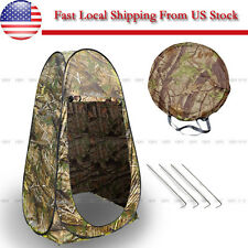 Portable Outdoor Pop Up Tent Camping Shower Privacy Toilet Changing Room