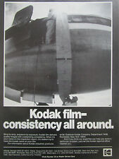 2/1980 PUB EASTMAN KODAK INDUSTREX PRODUCTS KODAK FILM AIRLINER ORIGINAL AD