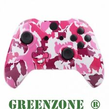 Pink Camo Xbox One Replacement Custom Controller Shell Mod Kit + Buttons Mod Kit