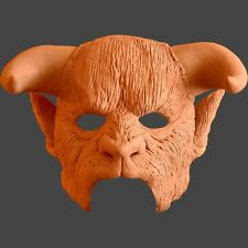 Beast - Horns, forehead, ears and nose latex prosthetic - unpainted.