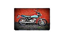 1978 gt250 Bike Motorcycle A4 Photo Poster