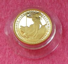 2004 GOLD BRITANNIA £10 TEN POUND 1/10TH PROOF COIN BOX AND COA